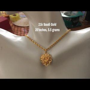 PRE ORDER- 21k Real Gold